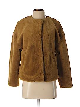 Zara TRF Faux Fur Jacket Size XS
