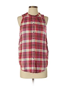 Lucky Brand Sleeveless Button-Down Shirt Size XS