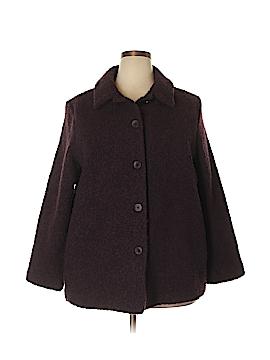 Eileen Fisher Wool Coat Size 1X (Plus)