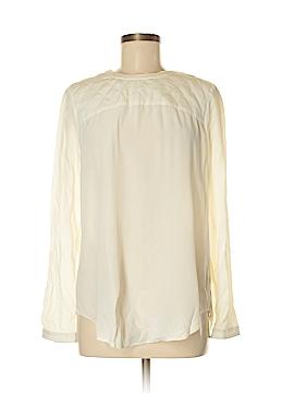 Madewell Long Sleeve Silk Top Size M