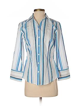Ann Taylor LOFT Long Sleeve Button-Down Shirt Size 2