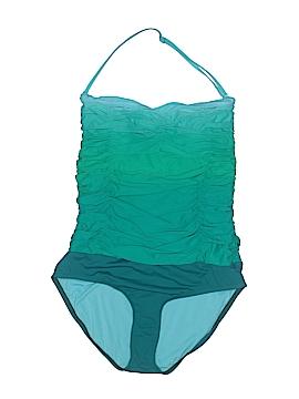 Carmen Marc Valvo One Piece Swimsuit Size 10