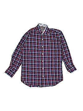 Thomas Dean Long Sleeve Button-Down Shirt Size S (Kids)