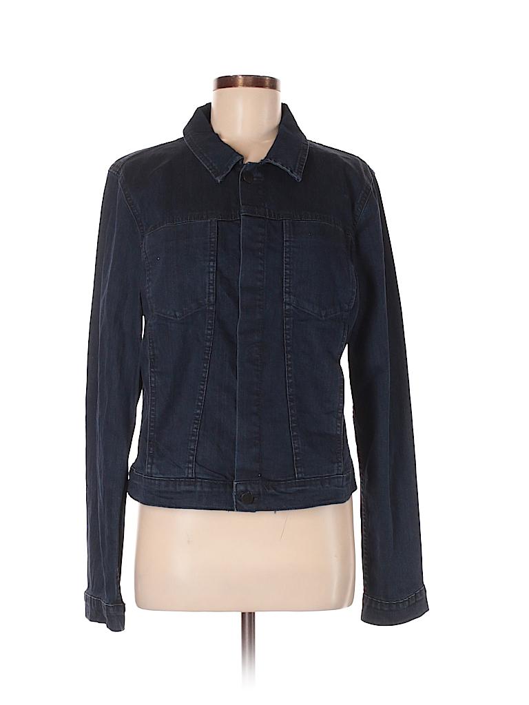 100db98660c CALVIN KLEIN JEANS Solid Dark Blue Denim Jacket Size XL - 72% off ...