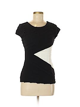 Black Saks Fifth Avenue Short Sleeve Top Size S