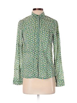 Anokhi Long Sleeve Button-Down Shirt Size XS