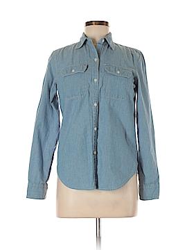 Chaps Long Sleeve Button-Down Shirt Size S
