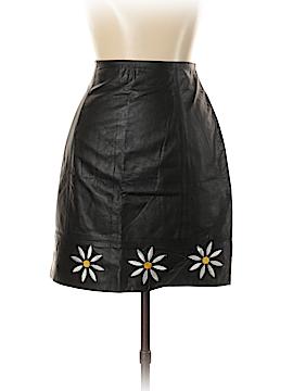Global Identity Leather Skirt Size 11 - 12