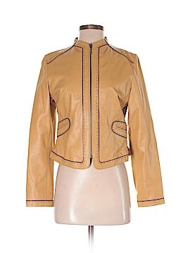 Anne Klein Leather Jacket Size 2