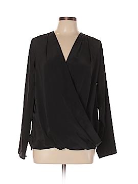 Amanda Uprichard Long Sleeve Blouse Size L