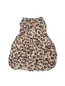 Kids Headquarters Faux Fur Vest Size 4T