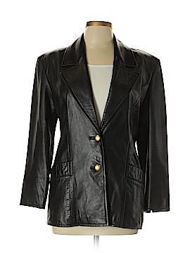 Michael Hoban Leather Jacket Size 7