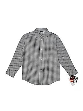Star Wars Long Sleeve Button-Down Shirt Size XS (6/7)