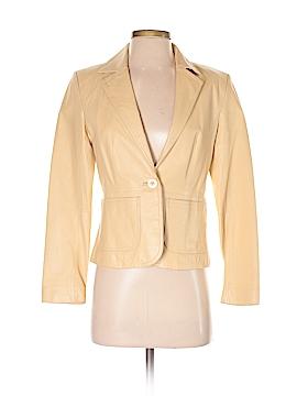 New York & Company Leather Jacket Size 2