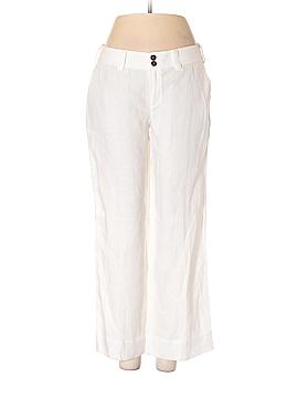 Strenesse Blue Linen Pants Size 4