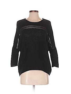 Velvet Wool Pullover Sweater Size P
