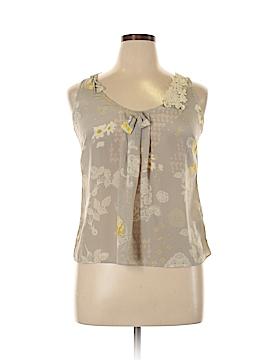 Leifsdottir Sleeveless Silk Top Size 10