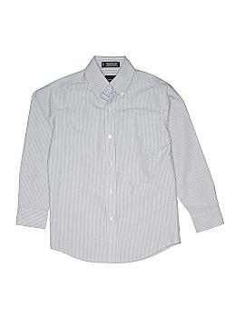 Arrow Long Sleeve Button-Down Shirt Size 10