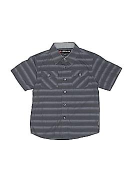 Airwalk Short Sleeve Button-Down Shirt Size 7