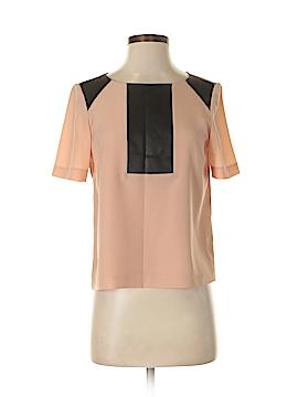 ABS Allen Schwartz Short Sleeve Blouse Size 4
