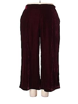 Eloquii Velour Pants Size 20 (Plus)