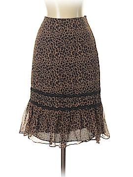 BCBGMAXAZRIA Silk Skirt Size 4