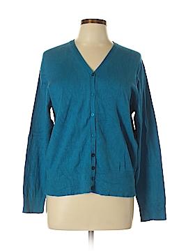 Josephine Chaus Silk Cardigan Size XL