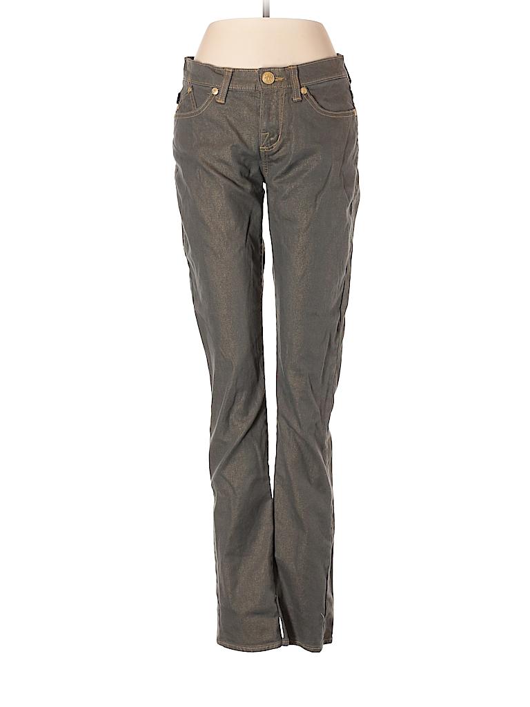 rock republic solid gray jeans size 8 80 off thredup. Black Bedroom Furniture Sets. Home Design Ideas