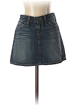 Big Star Denim Skirt 26 Waist