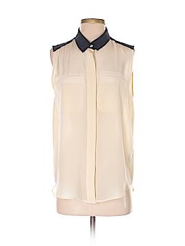 Sea New York Sleeveless Silk Top Size 4