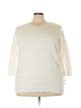 Charter Club Sweatshirt Size 3X (Plus)