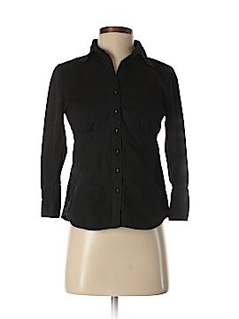 Carole Little 3/4 Sleeve Button-Down Shirt Size S