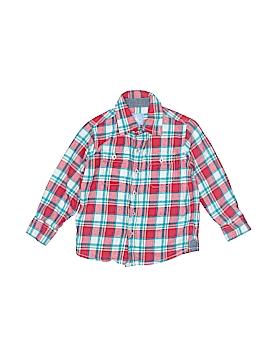 JK Kids Long Sleeve Button-Down Shirt Size 3T