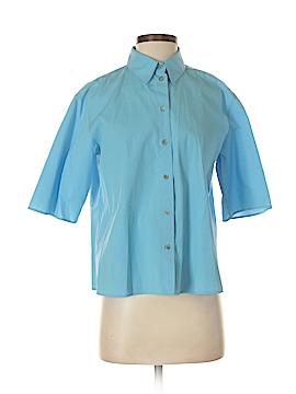 Jil Sander 3/4 Sleeve Button-Down Shirt Size 34 (FR)