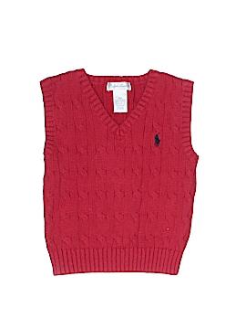 Ralph Lauren Sweater Vest Size 18 mo