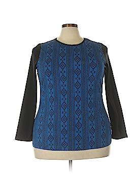 D&Co. Long Sleeve T-Shirt Size 1X (Plus)