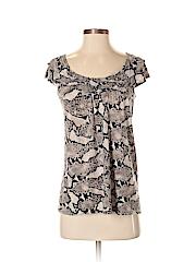 INC International Concepts Women Short Sleeve Top Size S
