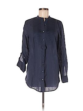 Martin + Osa Long Sleeve Button-Down Shirt Size 8