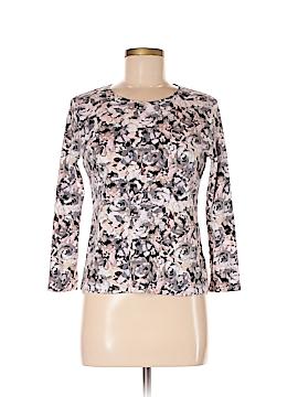 Croft & Barrow Long Sleeve T-Shirt Size M (Petite)