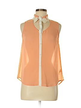 Ya Los Angeles Sleeveless Silk Top Size M
