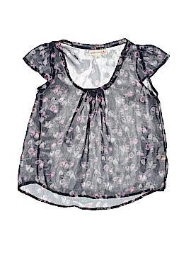 Rachael and Chloe Kids Short Sleeve Blouse Size 8