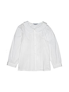 Hartstrings 3/4 Sleeve Button-Down Shirt Size 6X