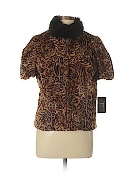 Etcetera Faux Fur Jacket Size 12