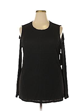 RACHEL Rachel Roy Long Sleeve Top Size 2X (Plus)