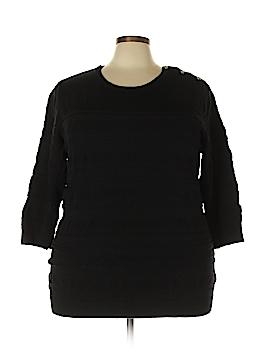 Karen Scott Sweatshirt Size 3X (Plus)
