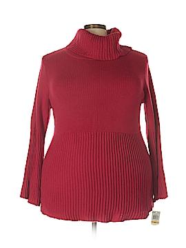 Style&Co Turtleneck Sweater Size 3X (Plus)