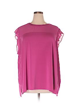 Worthington Short Sleeve Top Size 5X (Plus)