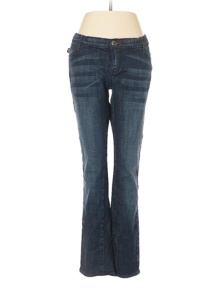 rock republic solid dark blue jeans 31 waist 80 off thredup. Black Bedroom Furniture Sets. Home Design Ideas