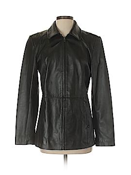 Alfani Leather Jacket Size M