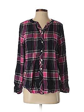 Croft & Barrow Long Sleeve Button-Down Shirt Size S